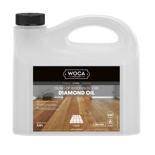 WOCA Diamond Oil Natur 2,5 Ltr.