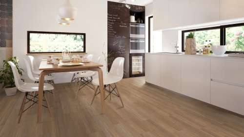 Expona Commercial Natural Brushed Oak Raumbild